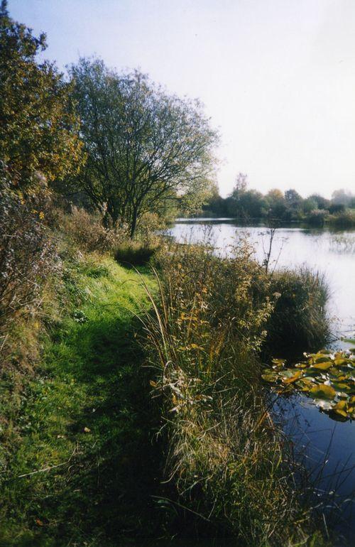 Main Lake - pathway