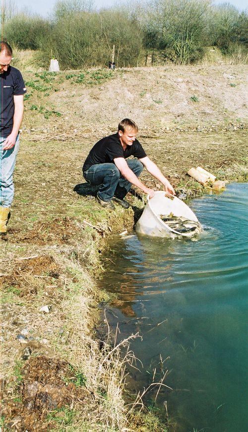 на что ловить рыбу на мане